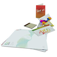post trade show communication options  including postcards, thank you notes and more